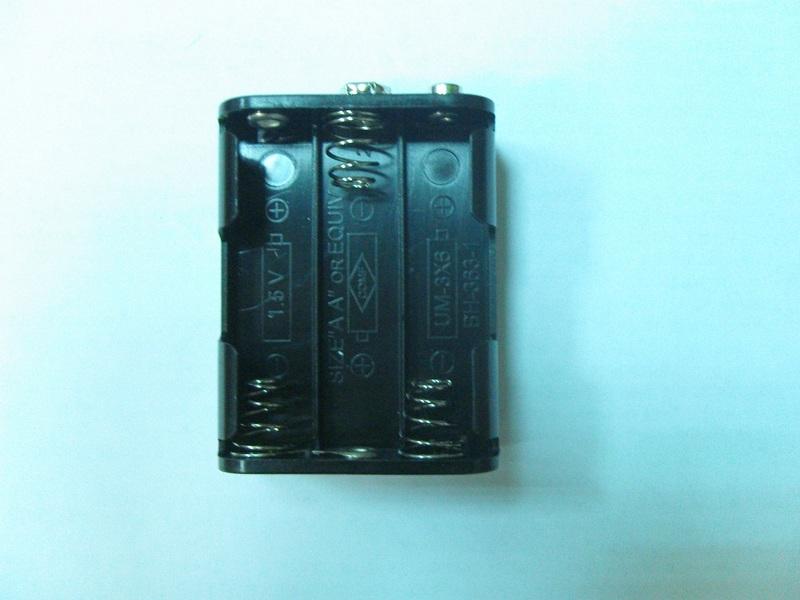 Бокс для батареек к металлоискателям ака.
